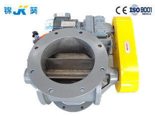 China Professional Rotary Airlock Valve With Upper And Lower Round Flanges supplier
