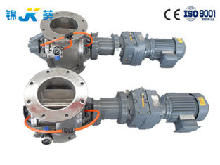 Industrial Mechanical Stainless Steel Rotary Valve  Minerals Transport