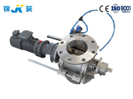 Food Industry Pneumatic Rotary Valve  -20℃ - 200℃ Wide Work Temperature